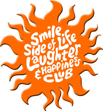 Sun logo, Smile Side of Life Laughter & Happiness Club